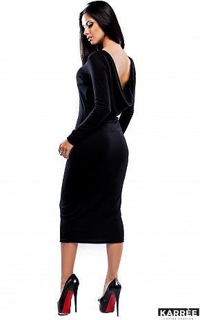 Платье Николь, Черный - фото 3