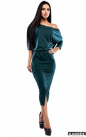 Платье Белиз, Темно-зеленый - фото 1