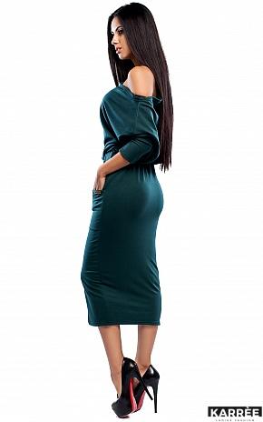 Платье Белиз, Темно-зеленый - фото 3