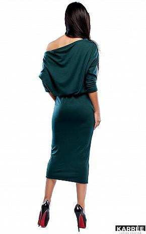 Платье Белиз, Темно-зеленый - фото 4