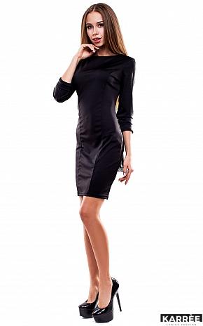 Платье Сингапур, Черный - фото 3