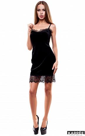 Платье Перу, Черный - фото 3