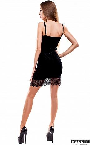 Платье Перу, Черный - фото 4