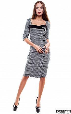 Платье Совиньон, Комбинированный - фото 1