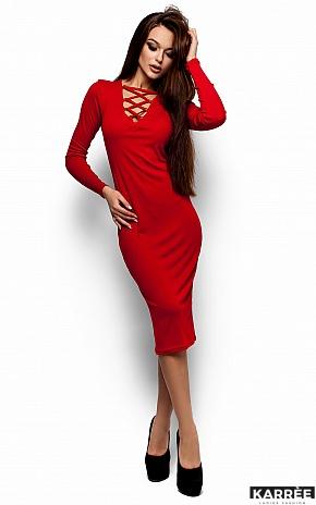 Платье Шардоне, Красный - фото 1