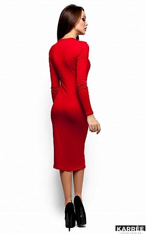 Платье Шардоне, Красный - фото 3