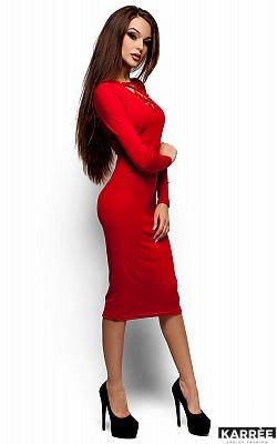 Платье Шардоне, Красный