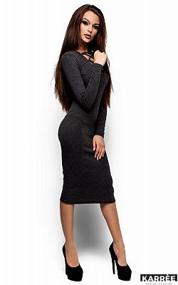 Платье Шардоне, Темно-серый