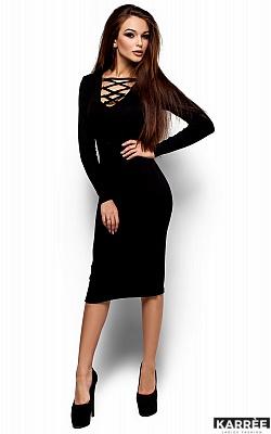 Платье Шардоне, Черный