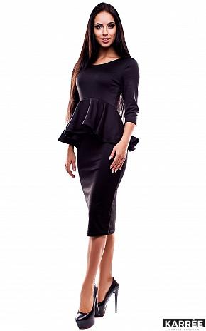 Платье Элиза, Черный - фото 2