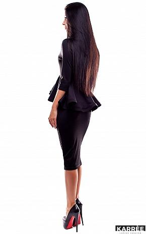 Платье Элиза, Черный - фото 3