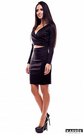 Платье Шенон, Черный - фото 2