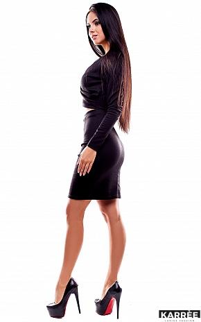 Платье Шенон, Черный - фото 3