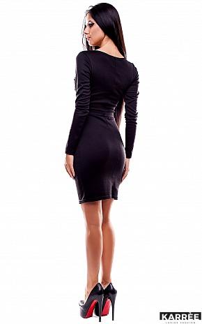 Платье Шенон, Черный - фото 4