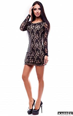 Платье Сьюзи, Черный - фото 1