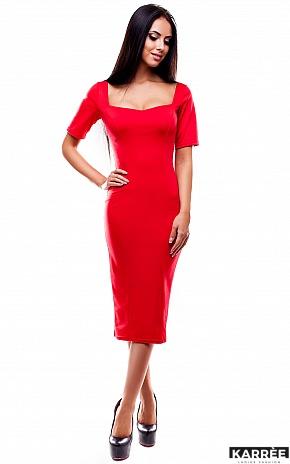 Платье Ралина, Красный - фото 1