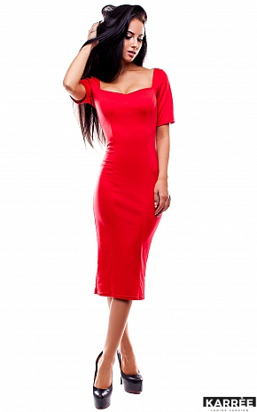 Платье Ралина, Красный - фото 3