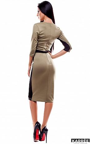 Платье Тинея, Оливковый - фото 3