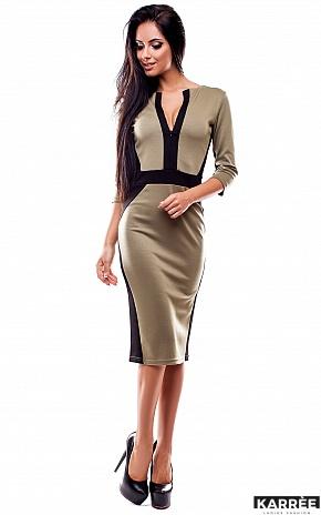 Платье Тинея, Оливковый - фото 1