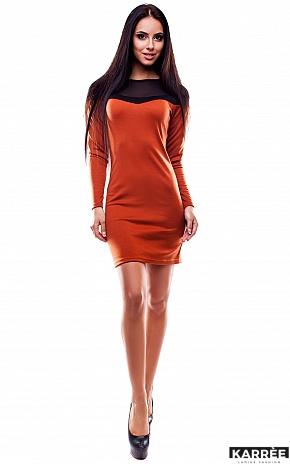 Платье Селли, Рыжий - фото 1