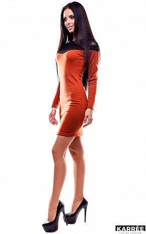Платье Селли, Рыжий - фото 3