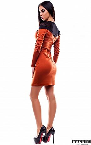 Платье Селли, Рыжий - фото 4