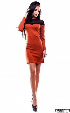 Платье Селли, Рыжий - фото 2