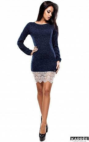 Платье Корсика, Темно-синий - фото 1