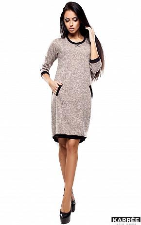 Платье Эмбер, Бежевый - фото 1