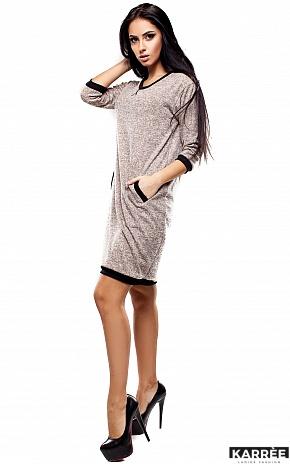 Платье Эмбер, Бежевый - фото 2