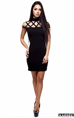 Платье Уитни, Черный - фото 1