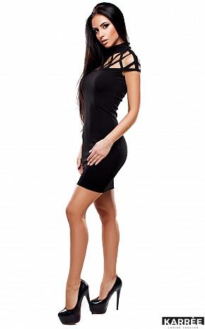 Платье Уитни, Черный - фото 4