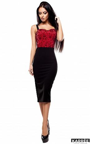 Платье Элис, Красный - фото 1