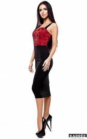 Платье Элис, Красный - фото 2