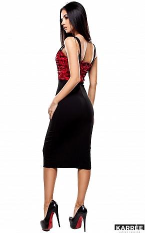 Платье Элис, Красный - фото 3