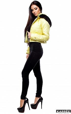 Куртка Кристалл, Светло-желтый - фото 1