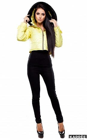 Куртка Кристалл, Светло-желтый - фото 3