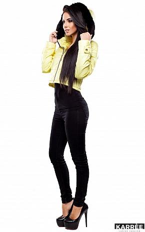 Куртка Кристалл, Светло-желтый - фото 4