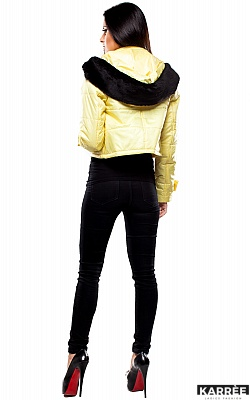 Куртка Кристалл, Светло-желтый
