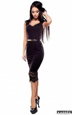 Платье Луиз, Черный - фото 2