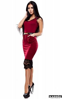 Платье Луиз, Марсала