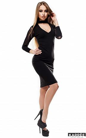 Платье Виолет, Черный - фото 2