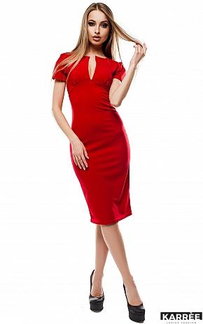 Платье Мираж, Красный - фото 1
