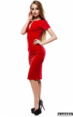 Платье Мираж, Красный - фото 3