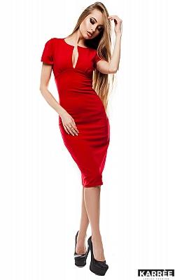 Платье Мираж, Красный