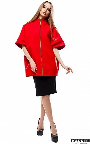 Пальто Жаклин, Красный - фото 1