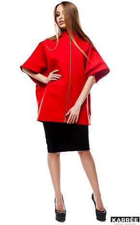 Пальто Жаклин, Красный - фото 2