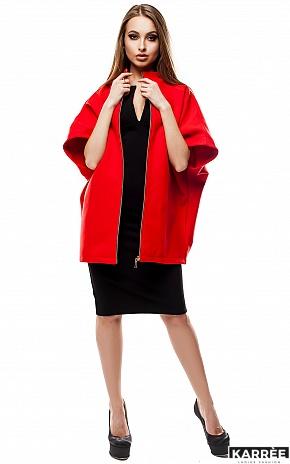 Пальто Жаклин, Красный - фото 3
