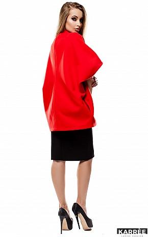 Пальто Жаклин, Красный - фото 4