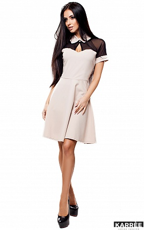 Платье Анкона, Бежевый - фото 2